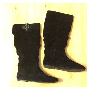 Gianni Bini Shoes - Black suede Gianna Bini Boots